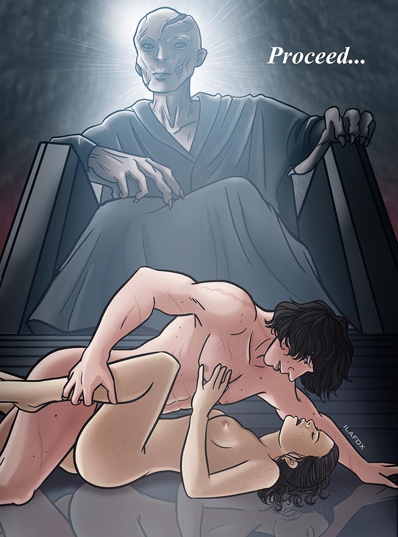 the awakens force nude wars star Kuroinu kedakaki seijo wa haku daku ni somaru