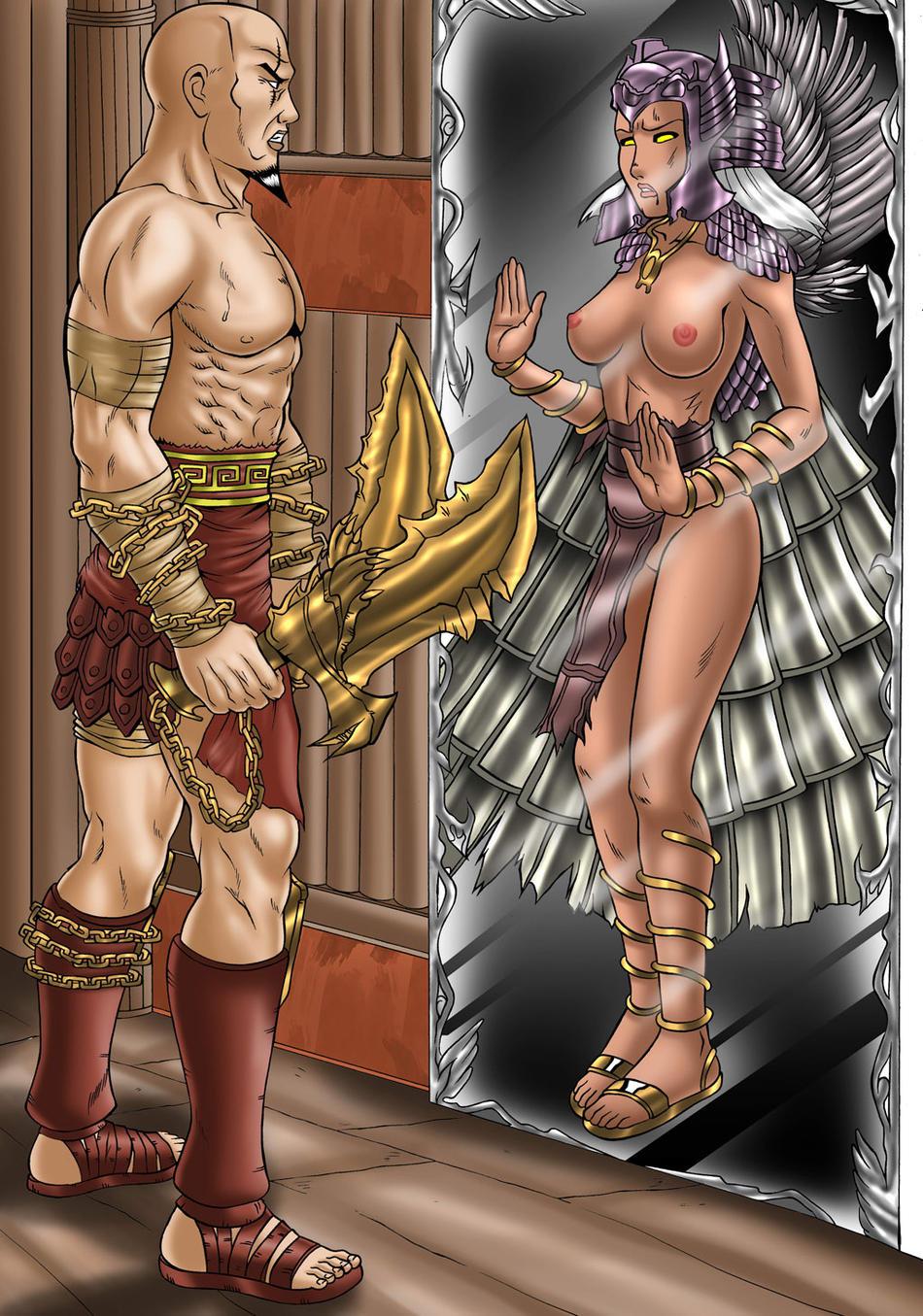 boy war god gif of Tentacle all the way through porn