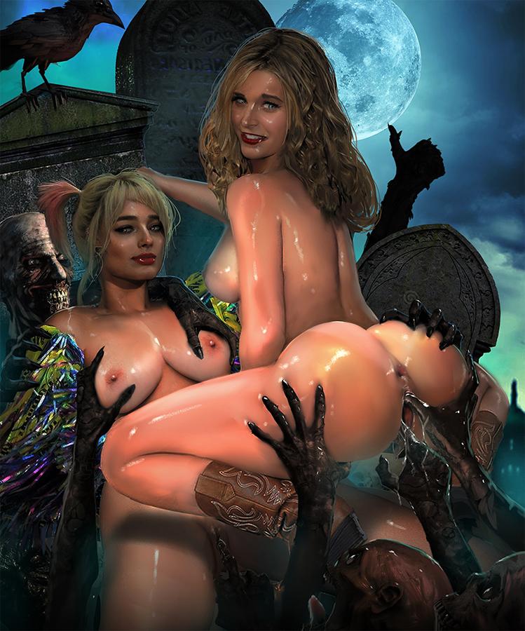 quinn harley moon zombie sheri Half life 2 alyx porn