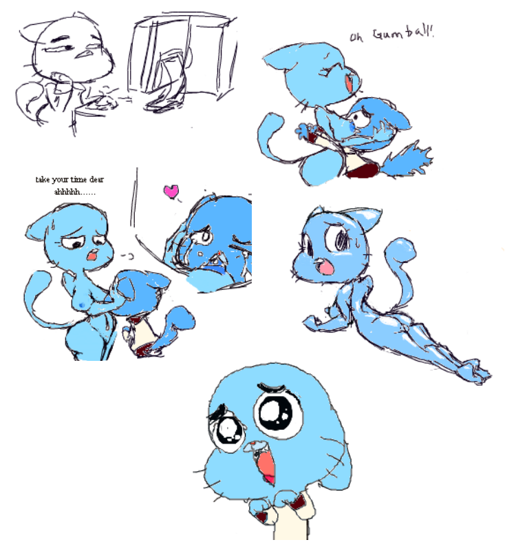 gumball amzing world of porn Animal crossing isabelle sex comic