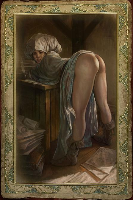 yennefer witcher 3 the nude Maou-sama, retry!