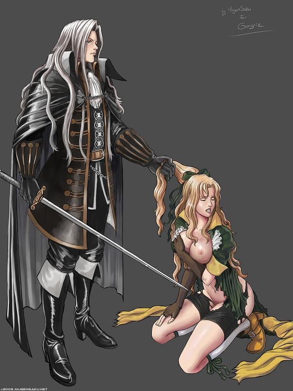 aria sorrow castlevania headhunter of Hei darker than black collar bones