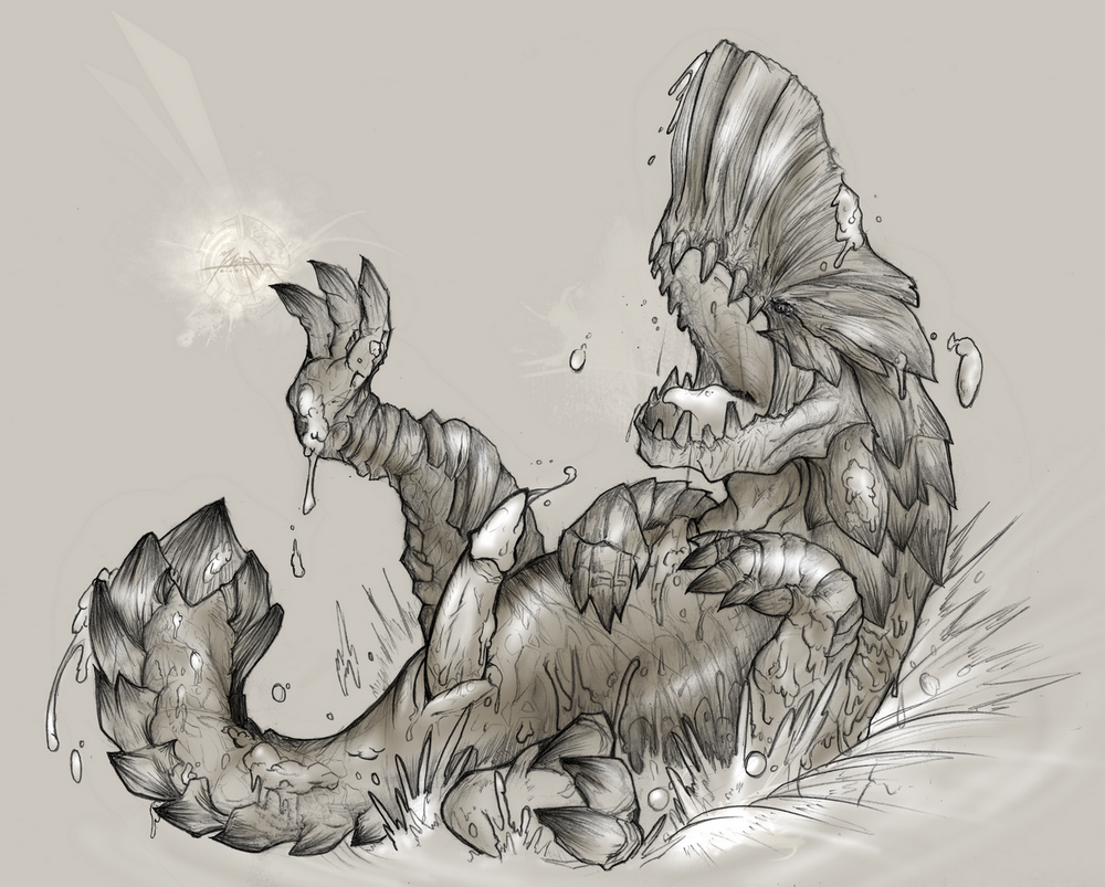 endemic monster world hunter life researcher Pegging with a smile tumblr