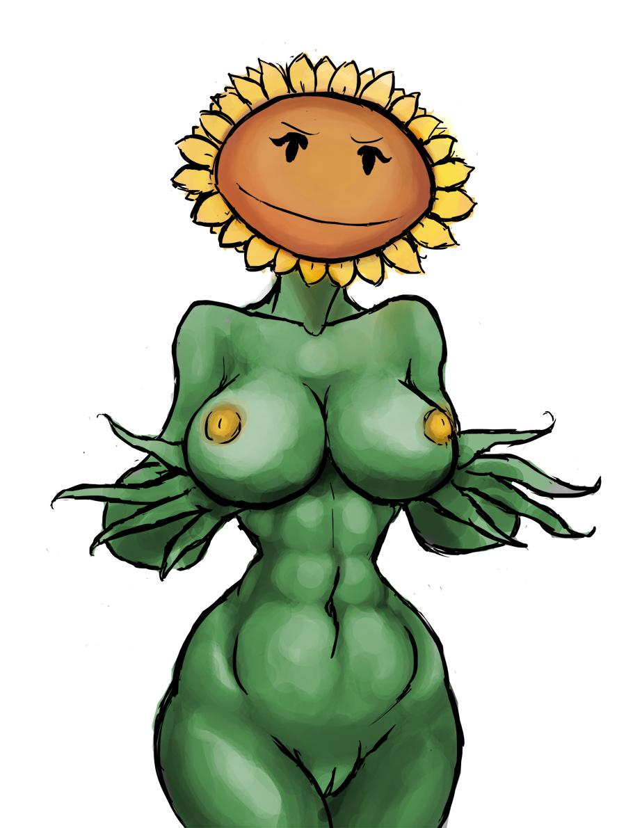 garden warfare plants vs zombies sunflower Joshi ochi 2-kai kara onnanoko ga..futtekita