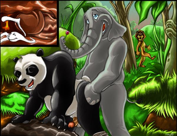 sad panda e-hentai Alps and the dangerous forest ryona
