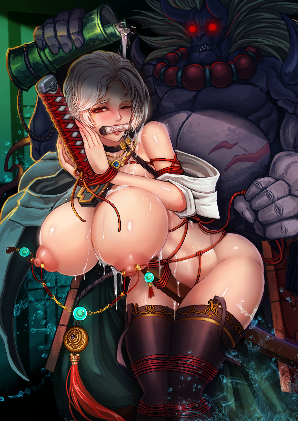 vanadis and marksman lord ludmila Gwen from ben ten naked