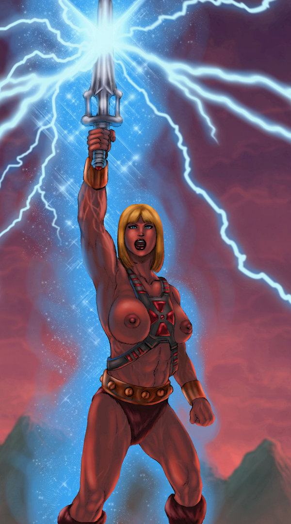 he-man Legend of the blue wolve