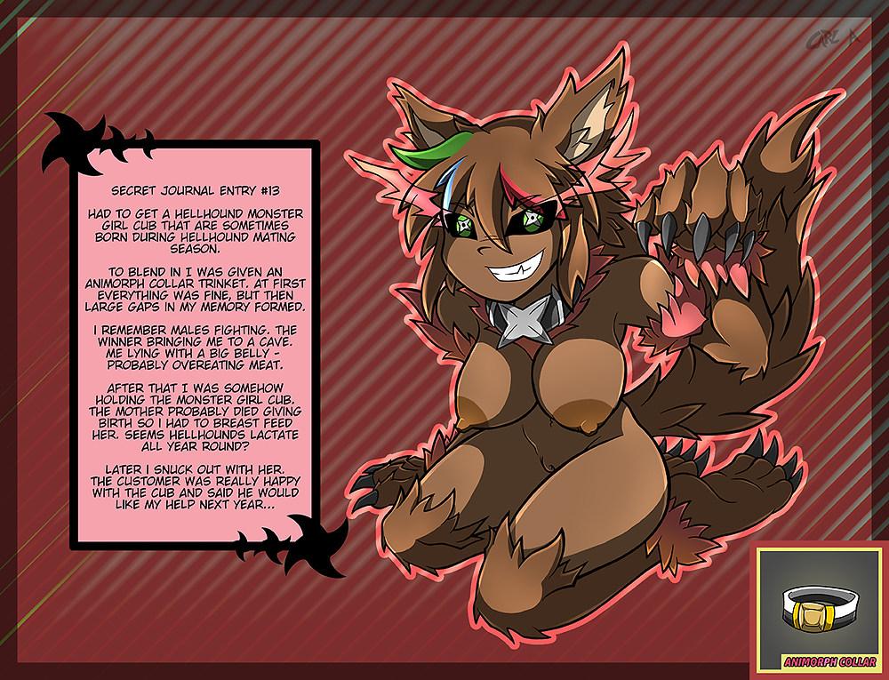 mage monster dark encyclopedia girl Grim tales from down below minnie
