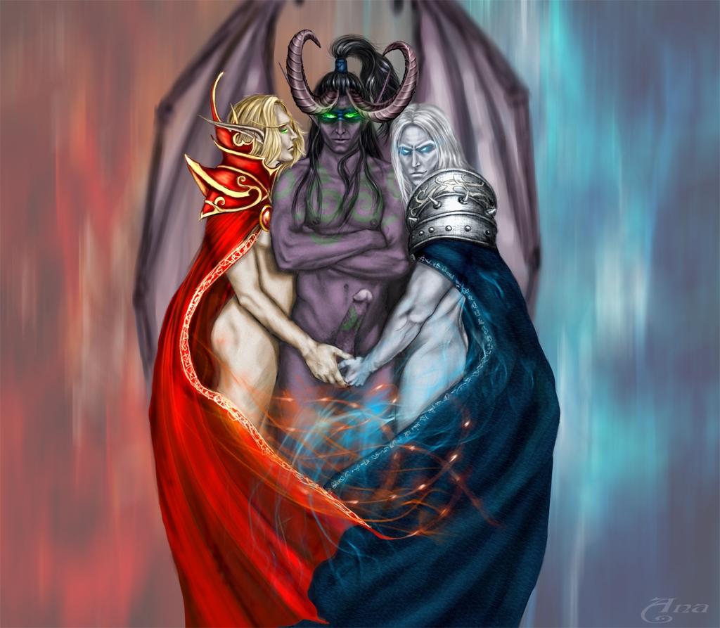 demon hunter blood male elf The legend of zelda mipha