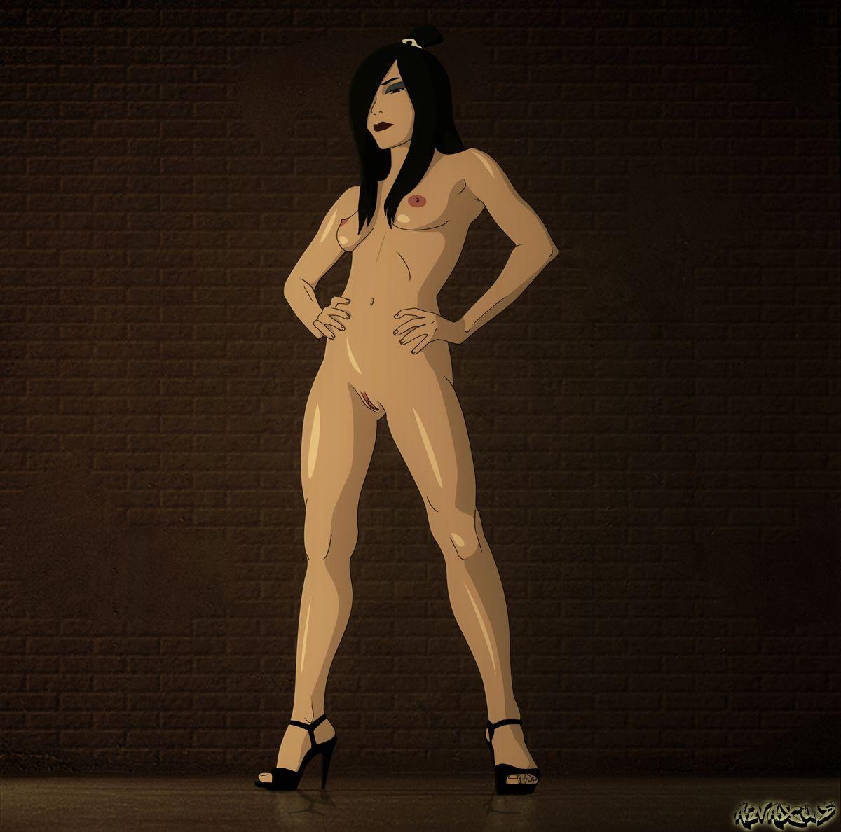 avatar naked airbender the last Midna the legend of zelda