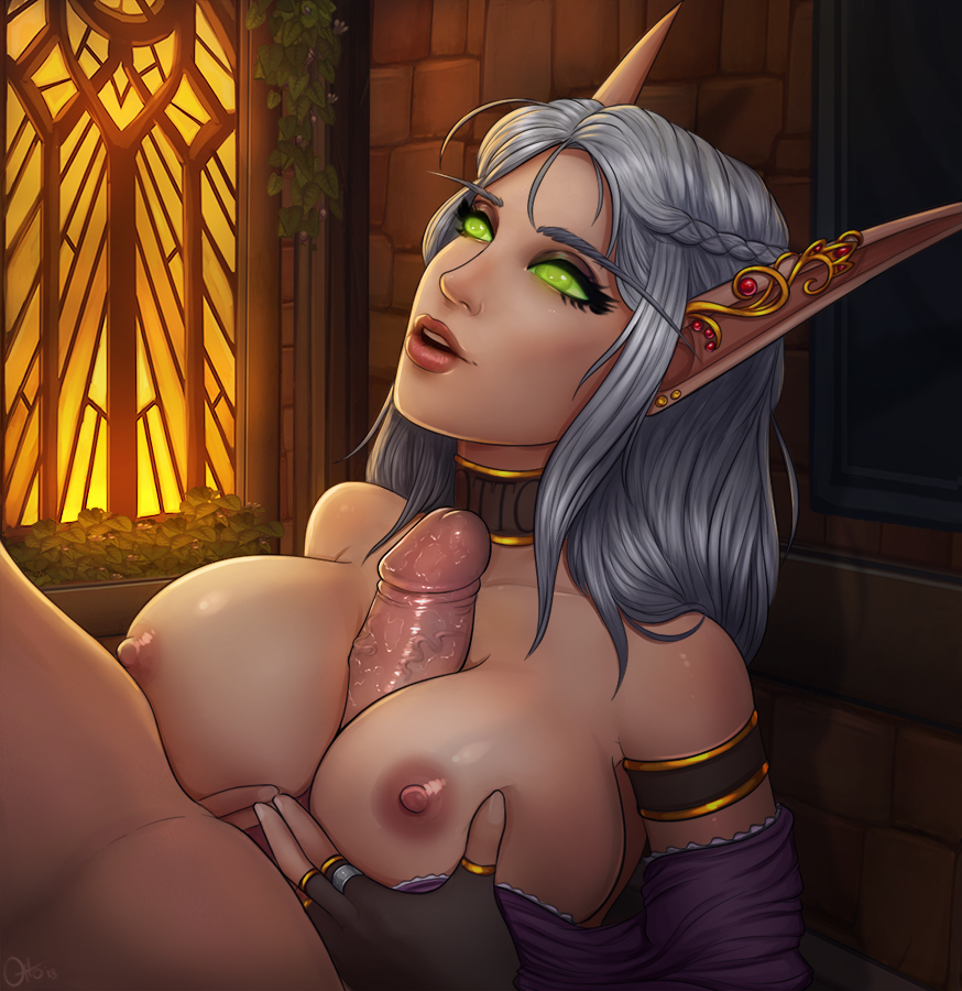 blood world of warcraft elf female Dark messiah of might and magic hentai