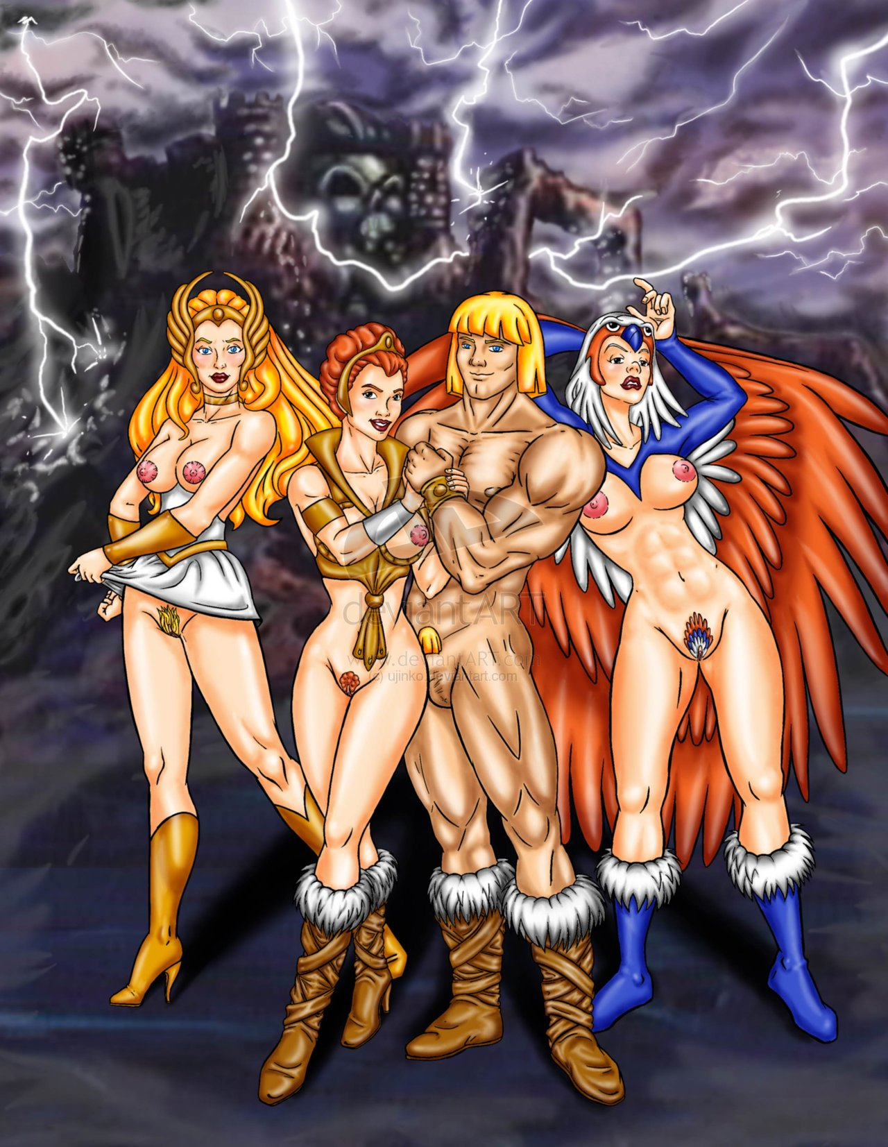 he-man Heaven's lost property porn comic