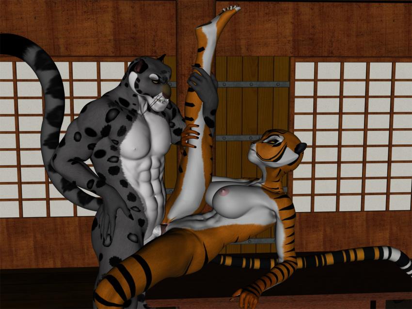 naked po panda kung fu Rouge the bat animated