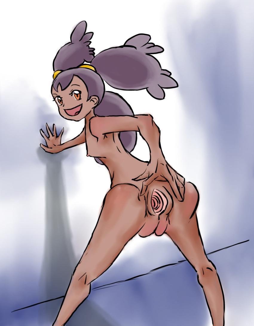 how iris old pokemon is Kill la kill ryuko x aikuro kiss