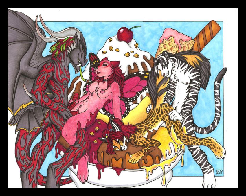 on elephants pink parade crossover Princess peach animated