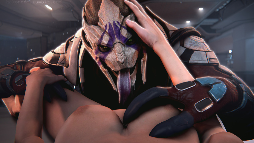 turian effect mass female andromeda Fenoxo trials in tainted space
