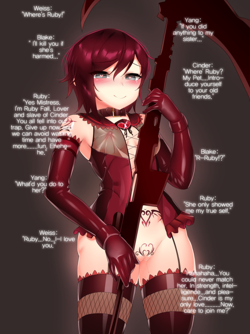 fanfiction rwby ruby blake and Bloodstained ritual of the night bloodless